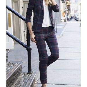 Express berry columnist ankle pants
